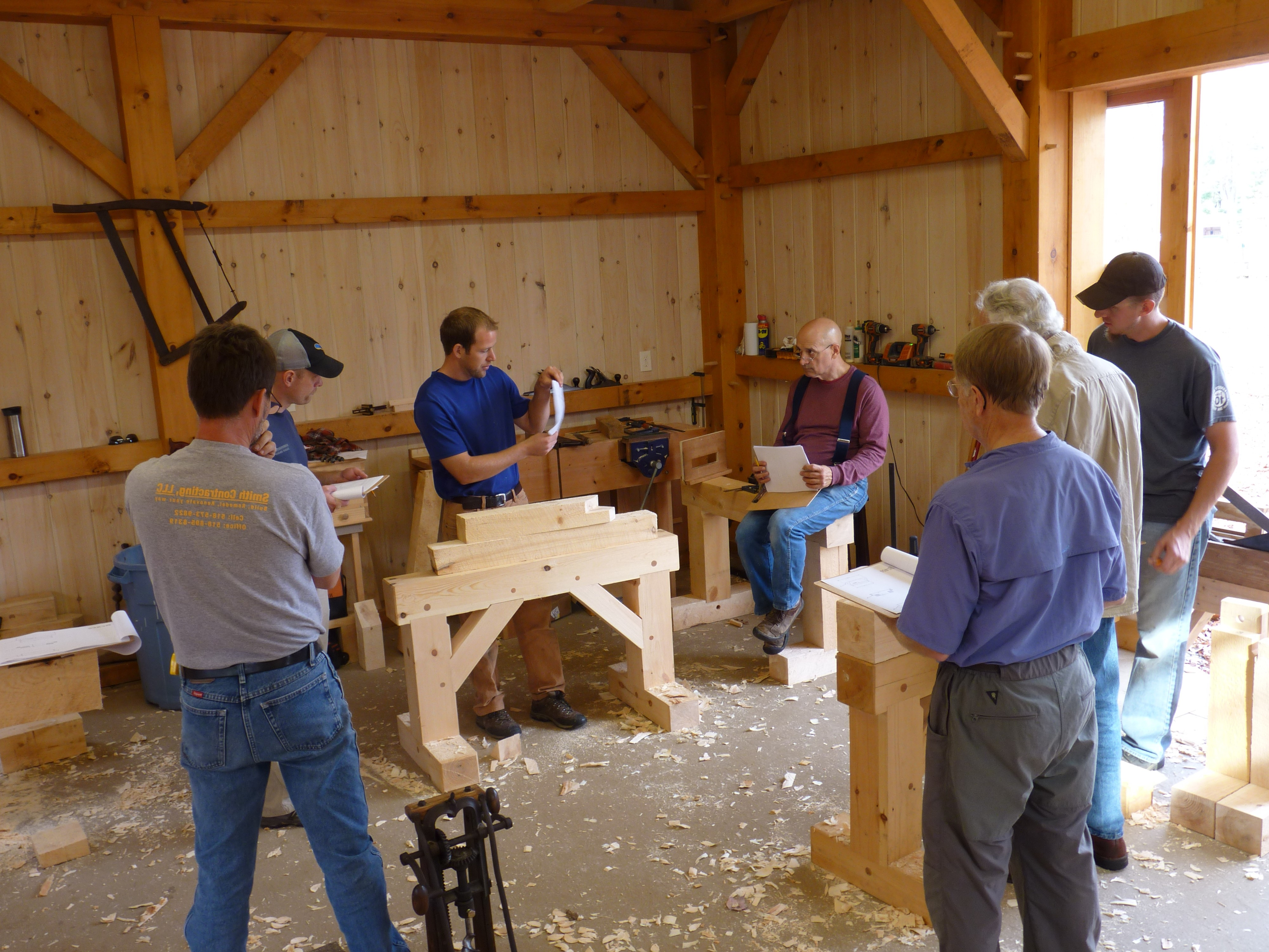Timber Framing Class Lecture