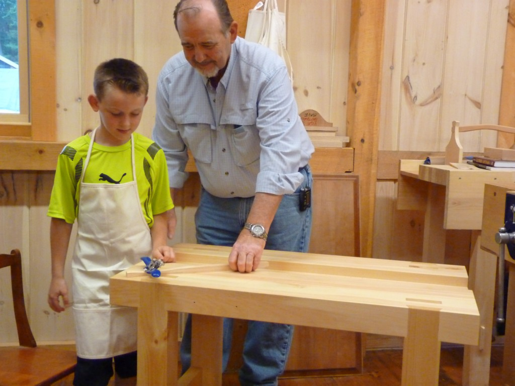 Congrats to Jay, the winner of our 2014 workbench raffle! Happy woodworking!